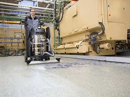 Промышленные пылесосы Karcher серии IVC