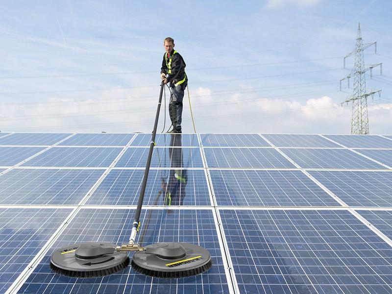 Система для очистки солнечных батарей iSolar