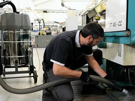 Промышленные пылесосы IVR