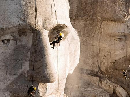 Чистка Mount Rushmore 2005