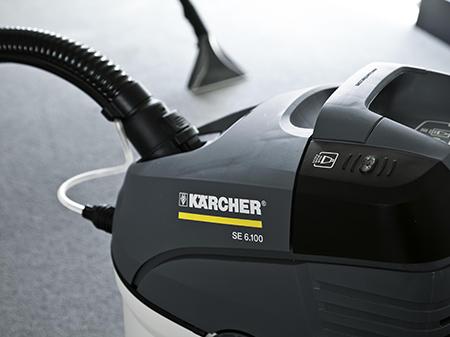Применение пылесоса Karcher SE 6.100