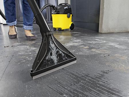 Применение моющих пылесосов