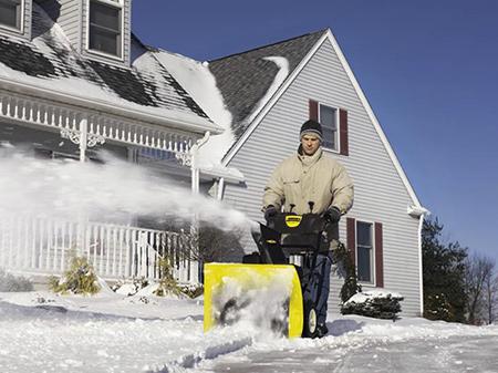Снегоуборочная техника Karcher